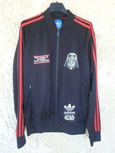 Veste ADIDAS STAR WARS collection DARK VADOR jacket jacke giacca Trefoil M
