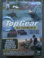 Top Gear Great Adventures Collection Box Set DVD Jeremy Clarkson Brand New
