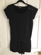Juicy Couture Black Romper W/Gold Buttons Jumpsuit small