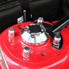 05-09 MUSTANG GT/V6 STRUT TOWER CAP KIT