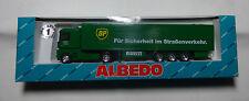 """Albedo 700141 Renault LKW """"BP- Für Sicherheit im Strassenverkehr""""  H0 1:87  OVP"""
