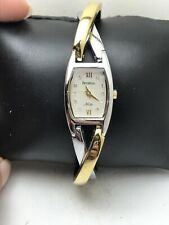 Armitron NOW Women's Two Tone Silver & Gold Watch, Crystal Accents, 75/3865TT-36