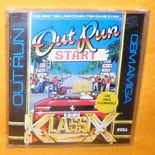 VINTAGE 1986 80s COMMODORE AMIGA CBM SEGA OUT RUN (OUTRUN) KLASSIX GAME