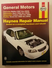 Haynes 38026: GM Malibu 97-03, Alero 99-03, Cutlass 97-00, and Grand Am 99-03