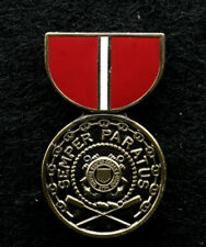 Us Coast Guard Good Conduct Lapel Pin Semper Paratus Veteran Uscg Chief Sailor