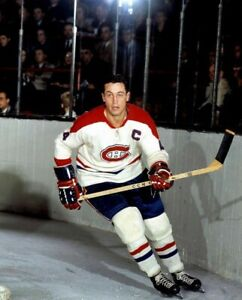 Jean Beliveau Montreal Canadiens UNSIGNED 8x10 Photo (A)