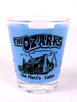 """The Ozarks Branson MO Old Matt's Cabin Hillbilly 2.25"""" Collectible Shot Glass"""