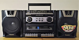 Panasonic RX-CT850 | Fully working | 5 presets equalizer