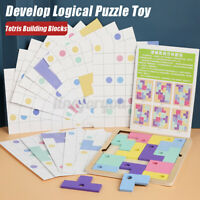 Wooden Kids Develop Logical Puzzle Toy Thinking Development Educational Game