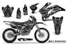 YAMAHA WR250F WR450F 2007-2011 GRAPHICS KIT CREATORX DECALS BTSNP