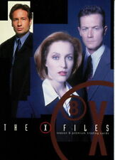 X-FILES SEASON 8 2002 INKWORKS PROMO CARD XF8-1 TV SCULLY MULDER