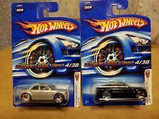 Hotwheels Chrysler 300c HEMI ( LOT OF 2 )  2006 First editions  4/38