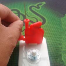 Lighted Needle Dritz Kunststoff LED Leuchtet Nadel Einfädler-grün