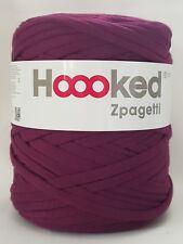 Hoooked `Zpagetti Stoffgarn Lila Ton` Neu recycelte Textilien 738