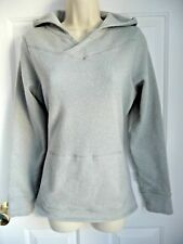 Eastern Mountain Sports S M Sweater Fave Hoodie Sweat Grey Kangoroo Pocket