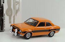 1970 Ford Escort I RS 1600 FAV orange schwarze Streifen 1:18 Minichamps