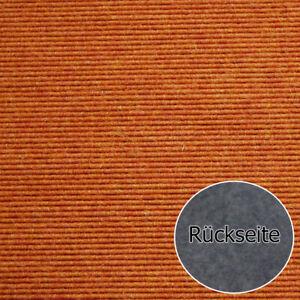 Teppichfliese Tretford Interland 585 Orange 50x50 cm Ziegenhaar Wolle