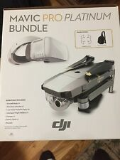 DJI MAVIC PRO PLATINUM BUNDLE w/ 4K Stabilized Camera.