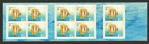 SINGAPORE 2003 TROPICAL MARINE FISHES 1ST REPRINT BOOKLET OF 10 STAMPS MINT MNH