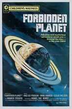 Forbidden Planet Poster 04 Metal Sign A4 12x8 Aluminium