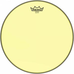 Remo BE-0314-CT-YE - Peau de frappe Emperor Colortone, jaune, 14''