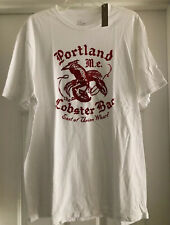New Mens J Crew Portland Lobster Bar T Shirt NWT Sz XL