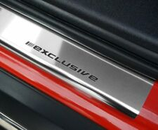VW PASSAT B6 B7 CC since 2005 CAR DOOR SILL PROTECTOR EXCLUSIVE chrome 4pcs