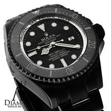 Tutto Nero Rolex 44mm Deepsea Sea Dweller Ceramica Quadrante Nero 116660