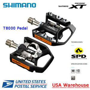 NEW Shimano Deore XT PD-T8000 Clipless Pedal with Cleat SM-SH56 - New with Box