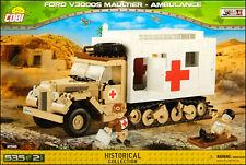 COBI Ford V3000S Maultier Ambulance (2518) - 535 elem. - WWII German half-track
