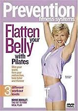 PREVENTION FITNESS SYSTEM - FLATTEN YOUR BELLY WITH PILATES –DVD, R-4, VERY GOOD