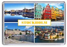 Stockholm Sweden Fridge Magnet 02
