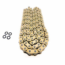 160 LINK GOLD O RING DRIVE CHAIN FOR EXTENDED SWINGARM MOTORCYCLE 525 X 160