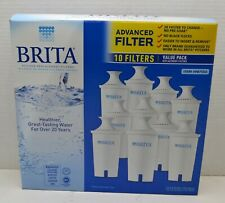 Brita Pitcher Replacement Filters 10 Pack 987554 - NEW and SEALED