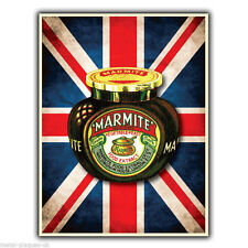 METAL SIGN WALL PLAQUE MARMITE Retro Vintage Pop poster picture Kitchen Decor
