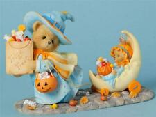 Cherished Teddies Connie & Annie Halloween Limited to 1000 Pieces Worldwide