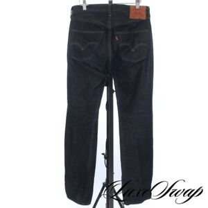 Levis Vintage Clothing LVC Made in USA Big E Indigo Selvedge Denim Jeans 31 x 34