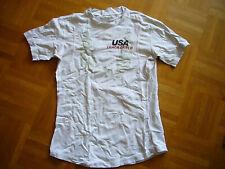 USA Original Leichtathletik , Shirt, weiß, NIKE Fit Dry Gr. S,  mit Aufdruck