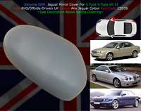 Jaguar Mirror Cover SType XType XK XJ O/S 2001 to 2007 Any Colour