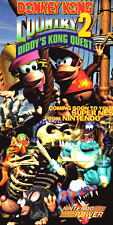 DONKEY KONG COUNTRY 2 NINTENDO POWER POSTER