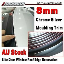 Car Chrome Moulding Trim Strip 8mm For Honda Door Roof Bumper Grille Window Edge