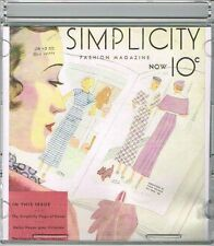 CD Picture Pack  Simplicity Summer 1930s Catalog Searchable Database Pattern #
