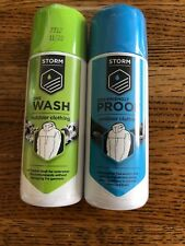 Storm Wash & eco Proofer waterproof Rukka camping Hiking clothing Twin Pack 75ML