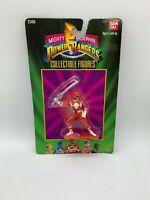 #2300 1993 Bandai Mighty Morphin Power Rangers Red Ranger New NIP Sealed