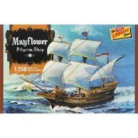 Lindberg 1:250 Scale Mayflower Pilgrim Ship Plastic Model Kit HL215 LND215