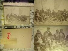 altes Foto Photo Balkan um1900 Trachten Männer Atelierfoto Tradition selten rar