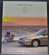 1997 Chevrolet Brochure Camaro Malibu Cavalier Lumina Monte Carlo Excellent Orig