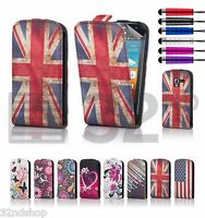 ULTRA THIN LEATHER FLIP CASE COVER FOR SAMSUNG GALAXY ACE S5830 SCREEN PROTECTOR