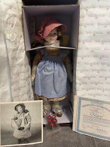 Ashton-Drake Galleries - Little House on the Prairie - Mary with COA