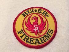 "Vintage Ruger Firearms Gun Logo Iron on Patch 3"" Diameter NOS"